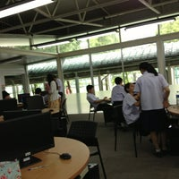 Photo taken at Library by Pown R. on 7/17/2013