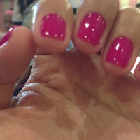 Photo taken at Nail Loft by Charm T. on 3/21/2013