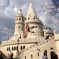 Photo taken at Fisherman's Bastion by Rottana K. on 4/14/2013