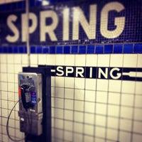 Photo taken at Spring Street by 7jek on 4/22/2013