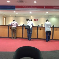 Photo taken at HSBC Bank by Wan 1. on 3/10/2014