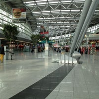 Photo taken at Dusseldorf Airport (DUS) by Holger M. on 4/9/2013