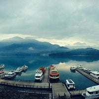 Photo taken at Cruise @ Sun Moon Lake by L. Ellemanzo T. on 6/11/2016