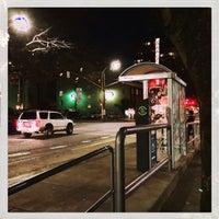 Photo taken at Portland Streetcar SW 10th & Clay by Sascha W. on 12/6/2017