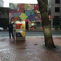 Photo taken at TriMet SW 6th & Pine St MAX Station by Sascha W. on 6/10/2016