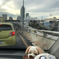 Photo taken at Yommarat Intersection by Aey on 10/17/2017