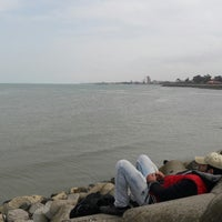 Photo taken at Stone Beach by Javad B. on 3/16/2018