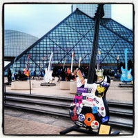 Photo taken at Rock & Roll Hall of Fame by Angela Z. on 10/13/2012