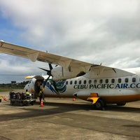 Photo taken at Godofredo P. Ramos Airport (Boracay Airport) / Caticlan Airport (MPH/RPVE) by Victor O. on 1/13/2013