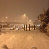 Photo taken at Kozyatağı Metro İstasyonu by Özen G. on 1/8/2013
