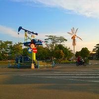 Photo taken at Stadion Datu Adil by Frisko H. on 8/1/2014