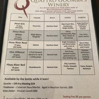 Photo taken at Quattro Goomba's Winery by Kevin W. on 7/23/2017