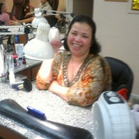 Photo taken at L&P Nails by Paulette J. on 2/23/2013