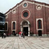 Photo taken at Santa Maria delle Grazie by Steffi on 10/5/2013