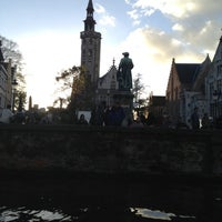 Photo taken at Jan Van Eyck Plein by Geoffrey V. on 11/3/2012