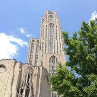 Photo taken at Cathedral of Learning by Megan B. on 5/31/2013