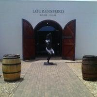 Photo taken at Lourensford Wine Estate by Tinus H. on 11/29/2012