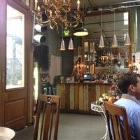 Photo taken at Brunswick House Cafe by Vivì B. on 11/9/2012