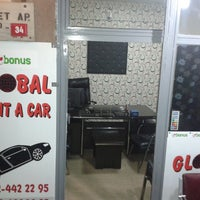 Photo taken at Global rent a car by Mücahit T. on 6/6/2013