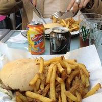 Photo taken at Le Concombre Masqué by Dima on 11/5/2012
