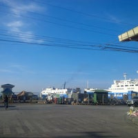 Photo taken at Pier 5, Trans-Asia Docking Area, Port of Cebu by Marvin M. on 6/9/2015