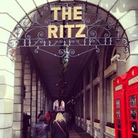 Photo taken at The Ritz London by Mark A. on 12/15/2012