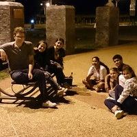 Photo taken at Parque Municipal 'Batalla de Tacuary' by Jorge P. on 1/12/2014