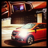 Photo taken at Uvel Veículos - Chevrolet by Matheus M. on 8/20/2013