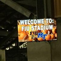 Photo taken at FIU Stadium by Francisco O. on 10/30/2016