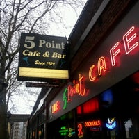 Photo taken at The 5 Point Cafe by Nephilim Halls on 12/1/2012