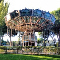 Photo taken at Parque de Atracciones de Madrid by Toni M. on 10/8/2012