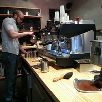 Photo taken at Spitfire Coffee by Charles C. on 2/24/2013
