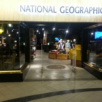 Photo taken at National Geographic Store by Syamil F. on 11/29/2012