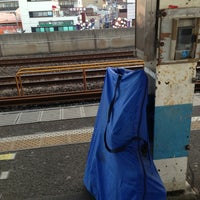 Photo taken at Shimosa-Nakayama Station by Makoto M. on 3/8/2013