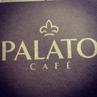 Photo taken at Palato Café by Claudio S. on 12/4/2012