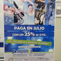 Photo taken at DeporBas by Gaston A. on 7/22/2014