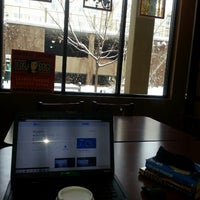 Photo taken at Dazbog Coffee by Nicholas D. on 1/4/2014