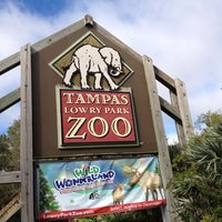 Photo taken at Tampa's Lowry Park Zoo by Ingrid F. on 11/19/2012