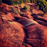 Photo taken at Cheltenham Badlands by Евгения П. on 8/9/2013