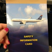 Photo taken at US Airways Flight 373 CLT-DFW by Anna B. on 4/13/2013