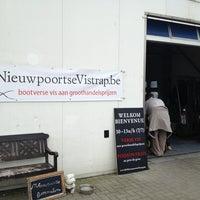 Photo taken at De Nieuwpoortse Vistrap by Cedric A. on 7/2/2013