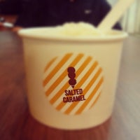 Photo taken at Salted Caramel Artisan Ice Cream by Jonie K. on 11/2/2012