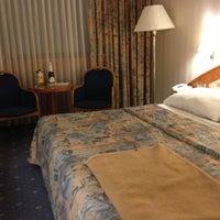 Photo taken at Panorama Hotel Prague by Елена Ю. on 1/7/2013