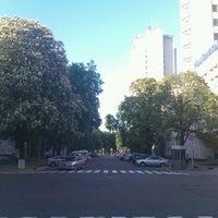 Photo taken at Памятник Мануильскому Дмитрию Захаровичу by Toma R. on 5/9/2013
