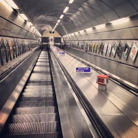 Photo taken at Bank London Underground and DLR Station by Oleg K. on 9/3/2013