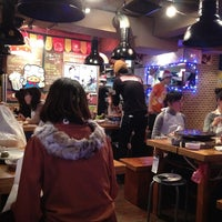 Photo taken at とんちゃん 新大久保店 別館 by mako2 on 12/25/2012