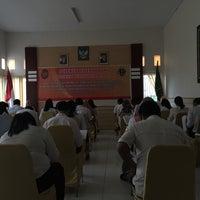 Photo taken at Kantor Wilayah BPN Prov. Sulbar by Gandi Y. on 1/5/2017