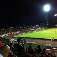 Photo taken at Estadio Olímpico Universitario by Raúl M. on 2/24/2013