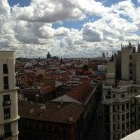 Photo taken at Hotel Emperador Madrid by Pablo D. on 5/20/2013