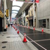 Photo taken at 上通アーケード by Sennosuke S. on 2/17/2018